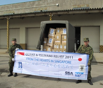 Ops JET Relief Update #4: MR Delivered 3rd Batch of Supplies, 3rd Relief Team Deployed
