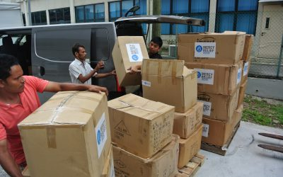 Mercy Relief responds to Cyclone Roanu with delivery of essential relief supplies to Sri Lanka