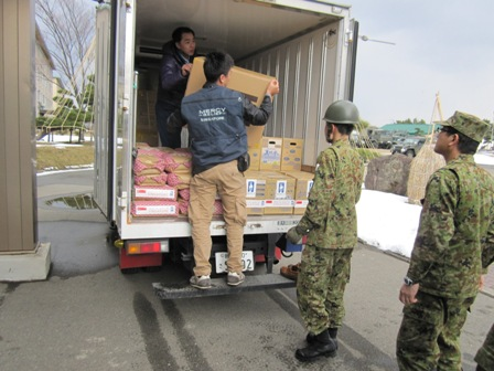 Ops Japan Earthquake & Tsunami (JET) Relief Update #2: MR supplies reached affected locations