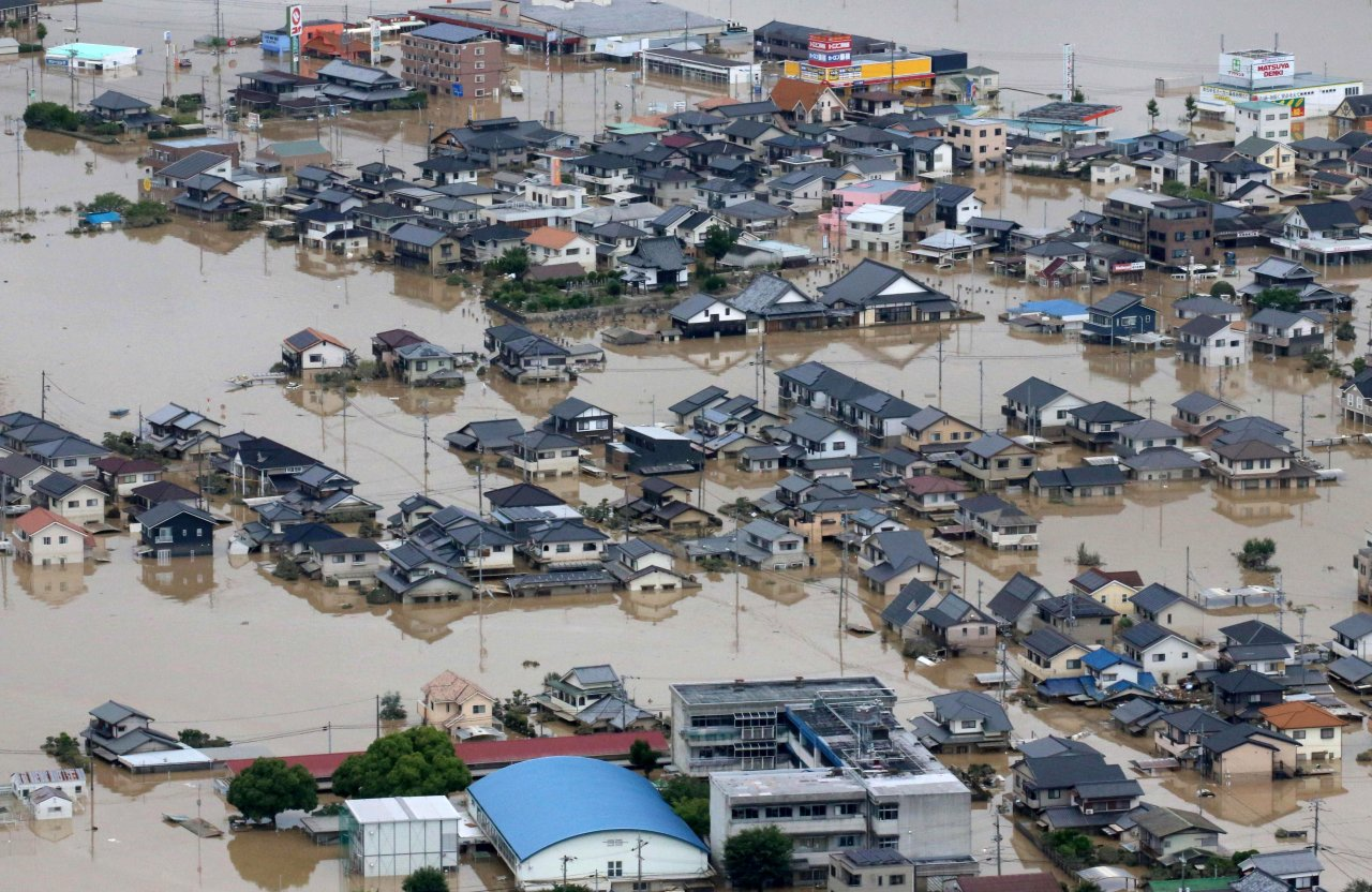 Japan Flood 2018 Completion Report