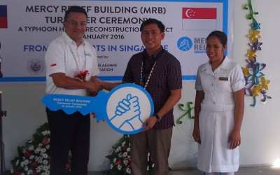 Mercy Relief holds inauguration ceremony for Typhoon Haiyan   rebuilding project in the Philippines