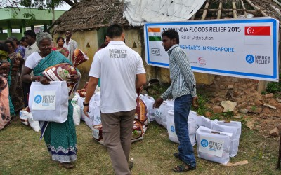 Mercy Relief's ongoing relief assistance in South India to benefit another 305 families in flood-hit rural villages