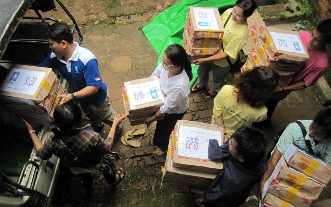 Myanmar Ethnic Conflict and Flood Relief 2012