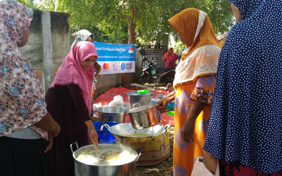 Mercy Relief addresses food and healthcare needs of mothers and children in AcehReading Time: 2 min
