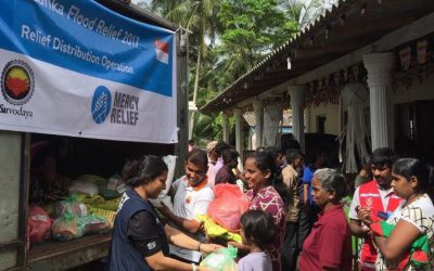 Mercy Relief responds to Sri Lanka floods with first phase of emergency relief distribution