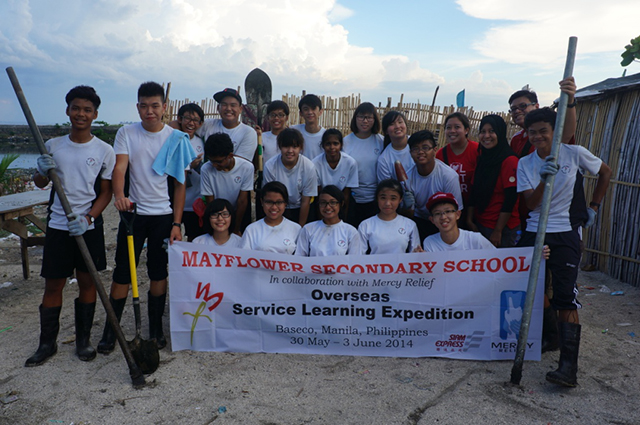 Young Volunteers contribute to development projects in The Philippines