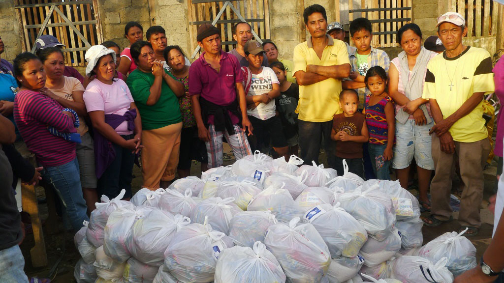 Typhoon Bopha Relief Ops Update #01 – Relief reaches devastated Davao