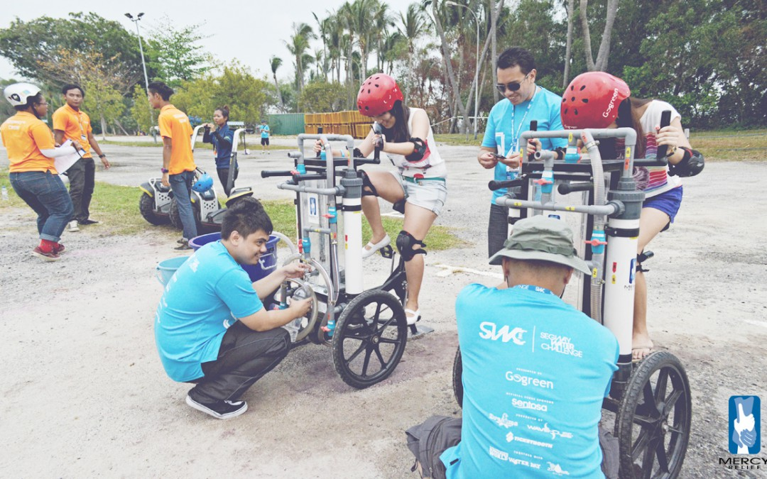 Volunteers unite for first-ever Water Outreach Event