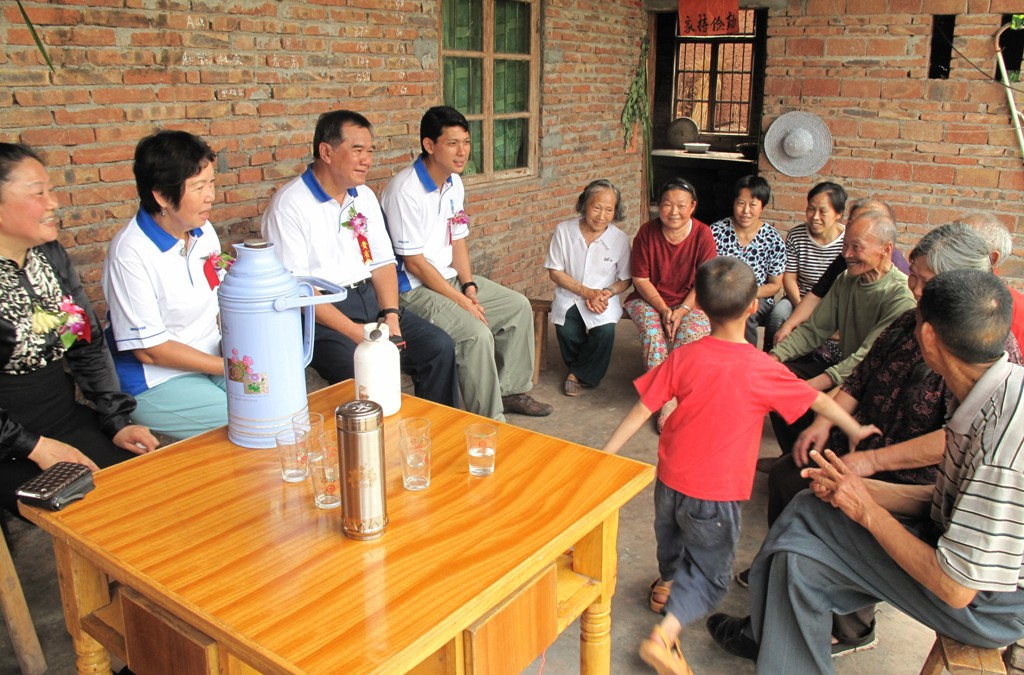 Mercy Relief digs up economical possibilities for the disadvantaged in Sichuan