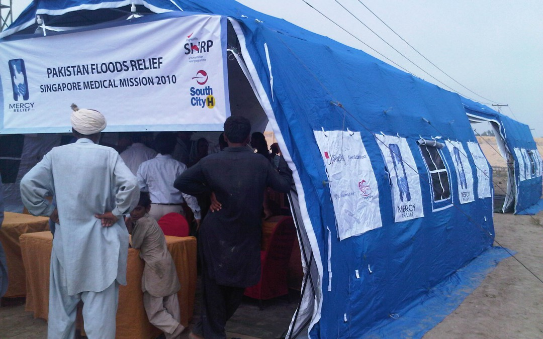 Mercy Relief – SingHealth Team sets up Singapore Field Medical Centre in Sukkur