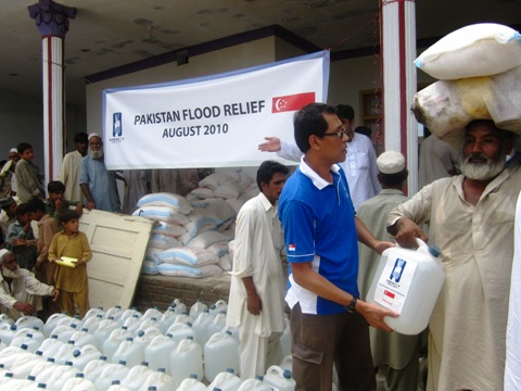 Pakistan floods relief Update – 11th August 2010