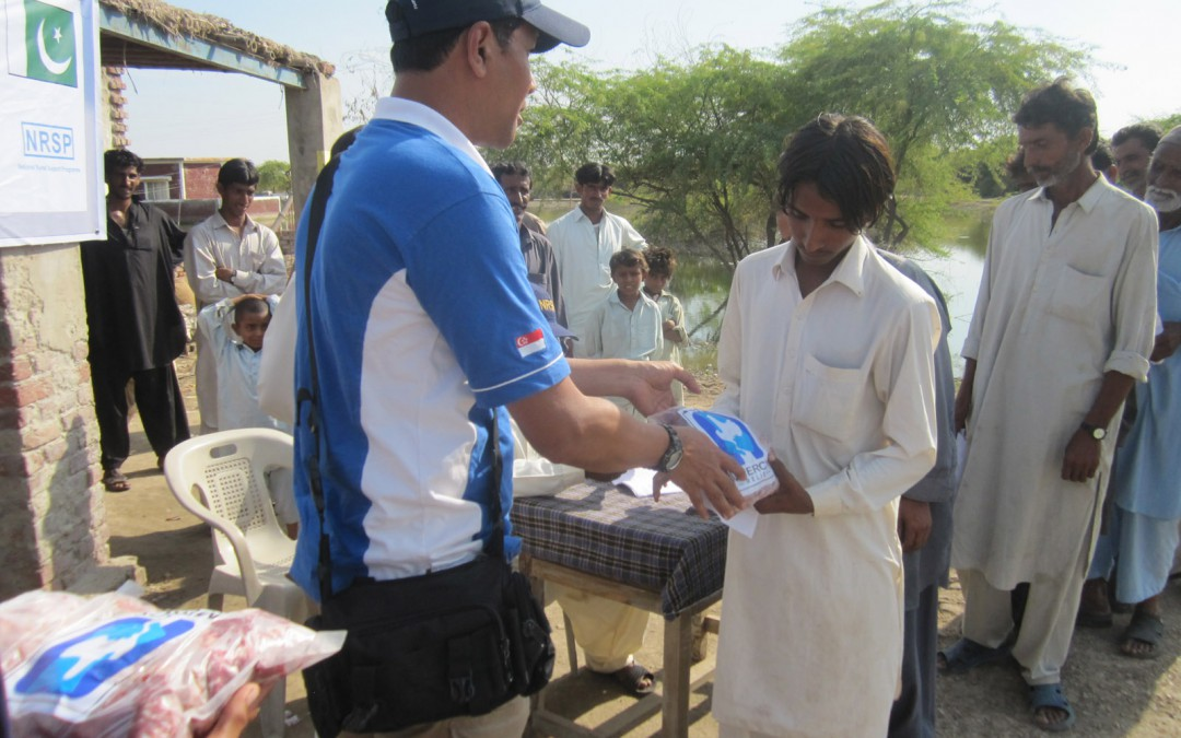 Mercy Relief continues aid to Pakistan flood victims