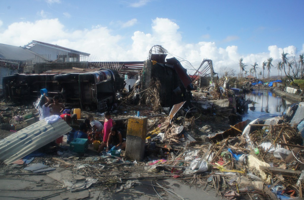 Ops THR Update #01 – Leyte struggles with late supplies