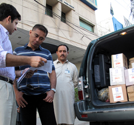 Mercy Relief Preliminary Mission to NWFP, Pakistan