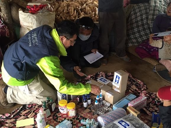 Mercy Relief sends Medical Mission to NepalReading Time: 3 min