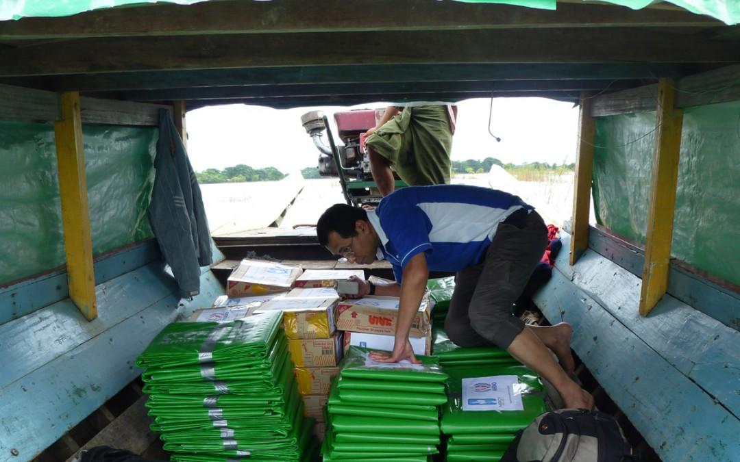 Myanmar conflict & floods relief Ops – Update #02