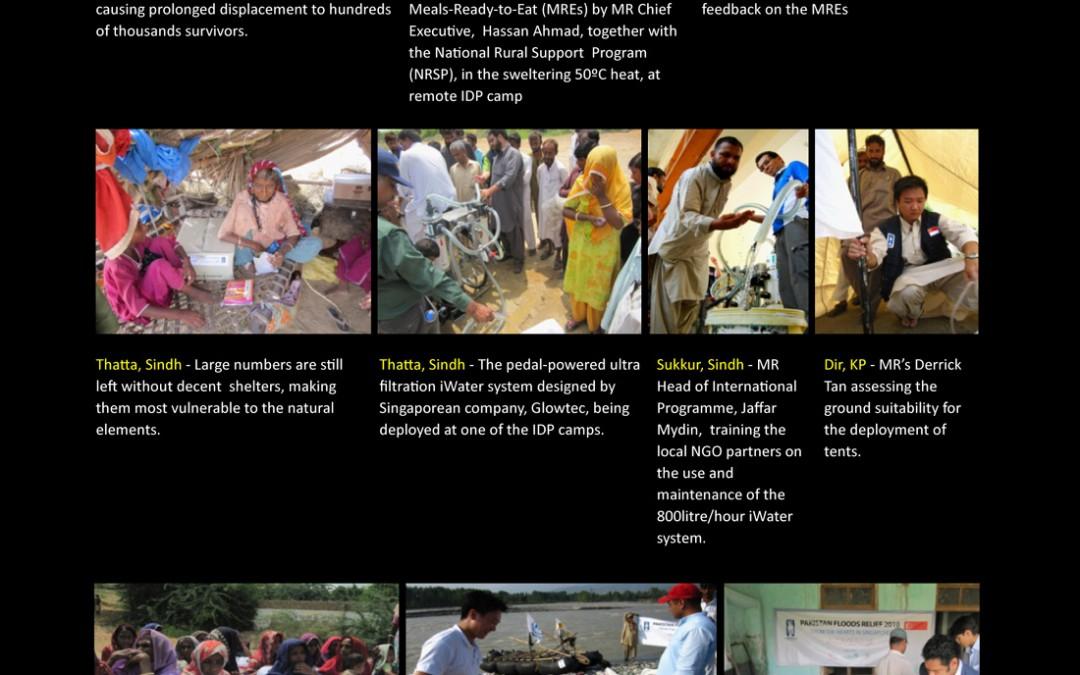 Pakistan floods relief Update – 8th September 2010