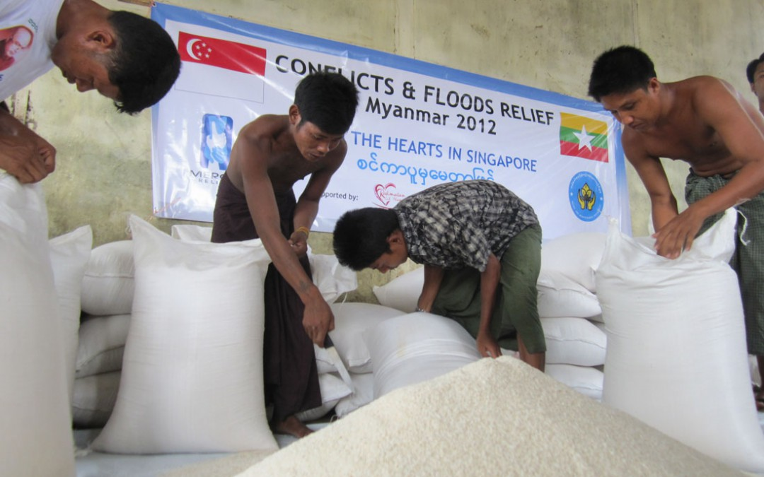 Myanmar conflicts & floods relief Ops, Update #03Reading Time: 2 min