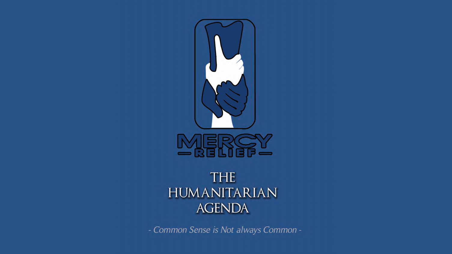 The Humanitarian Agenda, 2012