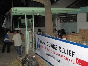 Mercy Relief's humanitarian efforts for Java quake victims